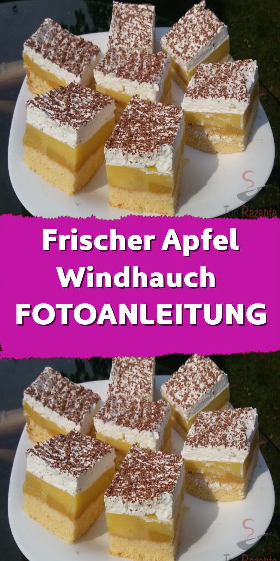 Frischer Apfel Windhauch FOTOANLEITUNG