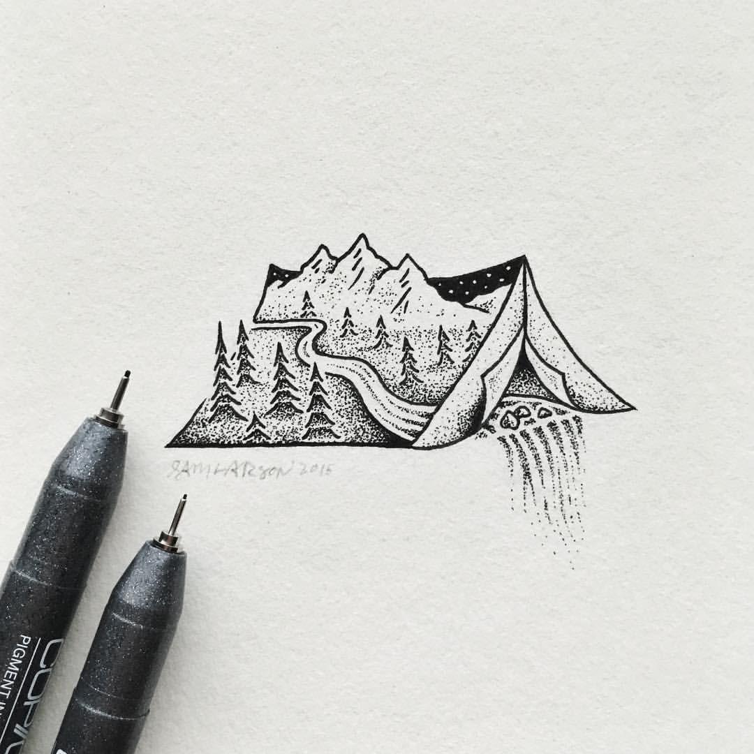 Art Illustration Szkice Szkicowanie Sztuka Diy