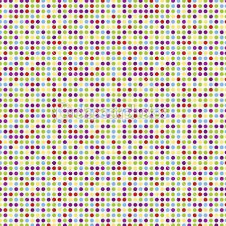 patrones sin fisuras, fondo de pantalla de lunares — Vector stock ...
