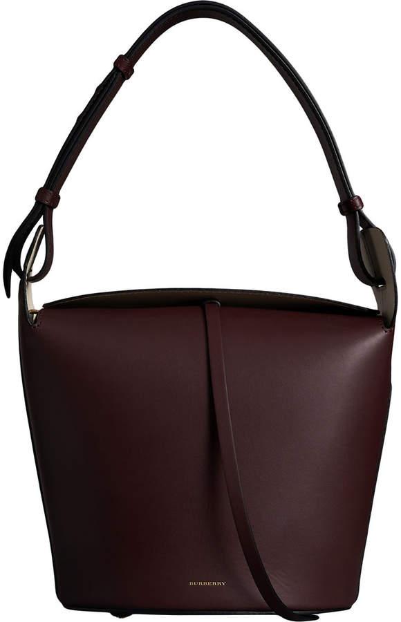 336b46ae7d9c Burberry The Medium Leather Bucket Bag
