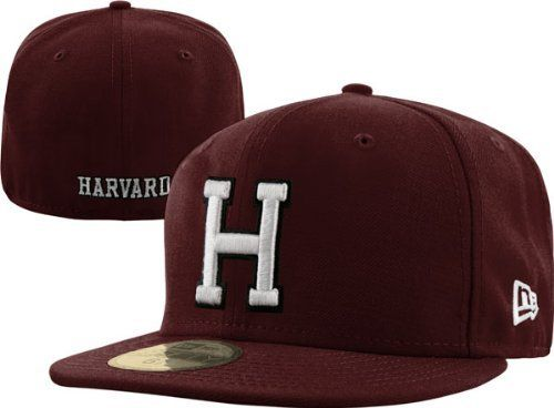 hot sale online 44502 c5f65 Harvard Crimson New Era 59FIFTY Basic Fitted Hat by New Era.  35.99. Fitted  Hat. Six panel construction with eyelets. 100% Wool. Structured fit.