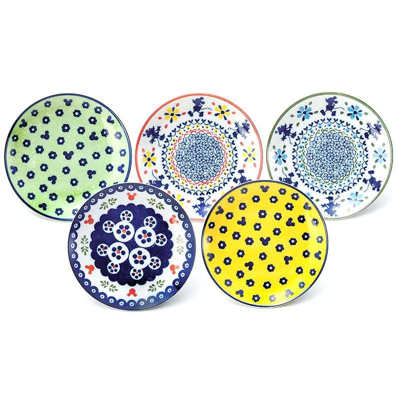 Velkommen | Rakuten Global Market 5 plates of cake set Dinnerware Set Mickey Mouse Polish series Disney Sango ceramic 16 cm plate x 5 gift gadgets store ...  sc 1 st  Pinterest & 5 plates of cake set Dinnerware Set Mickey Mouse Polish series ...