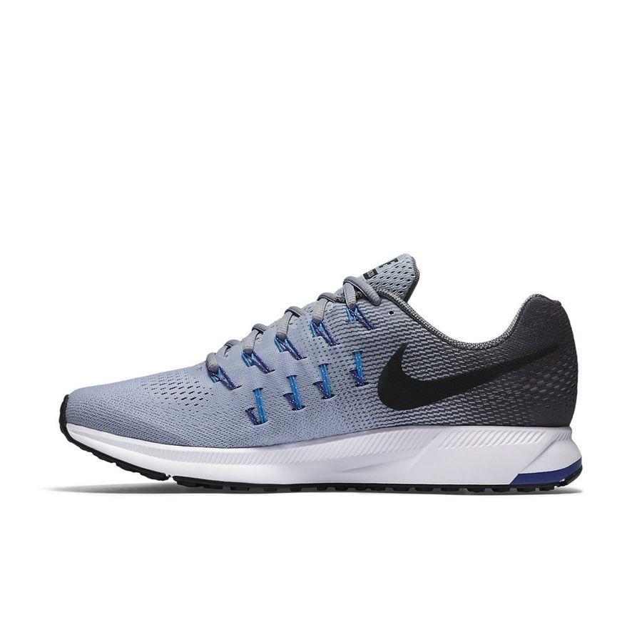 Nike Men S Air Zoom Pegasus 33 Wolf Grey Dark Grey Photo Blue 831352 004 Zoom Pegasus Air Nike Nike Men Running Shoes For Men