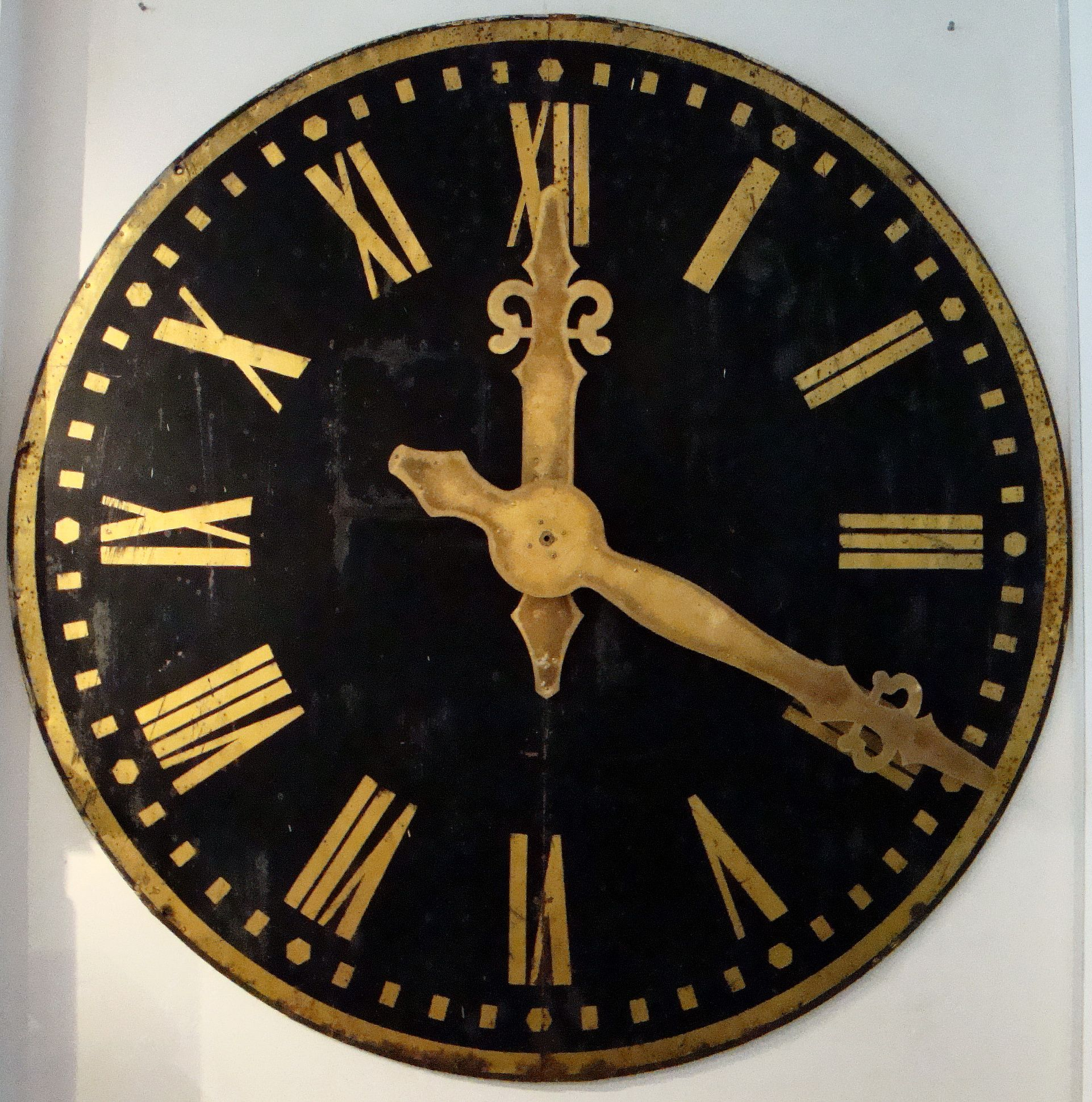 19th c French Tower Clock Face  www.appleyhoare.com