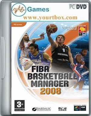 Fiba Basketball Manager 2008 Game Free Download Free Full Version Pc Games And Softwares Fiba Basketball Free Games Games