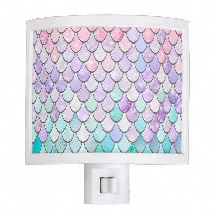 Mermaid Bedroom Decor, Night Light | Zazzle.com