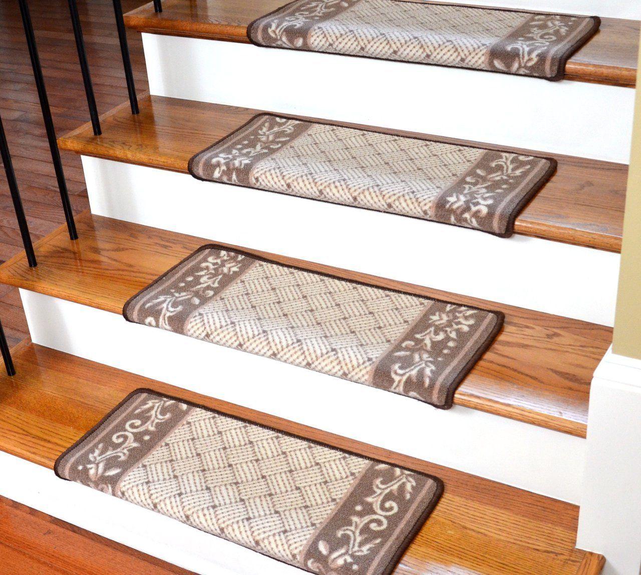 Dean Diy Bullnose Carpet Stair Treads Set Of 13 Stairs Design | Dean Carpet Stair Treads | Pet Friendly | Gripper Tape | Friendly Diy | Rug | Modern Diy
