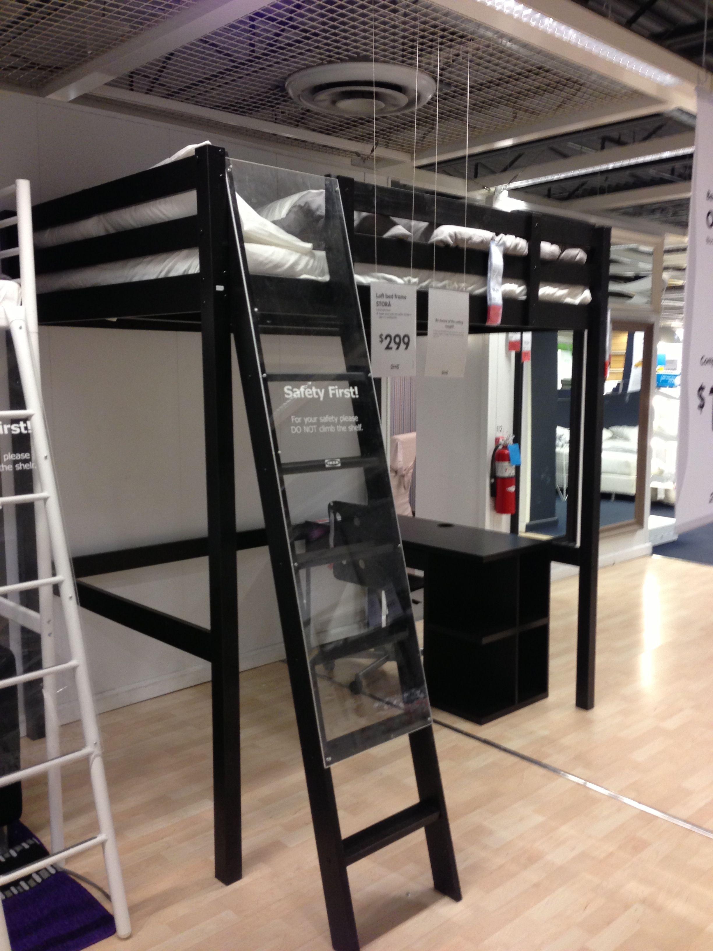 Stora Loft Bed Frame 299 Ikea Inspiration Pinterest
