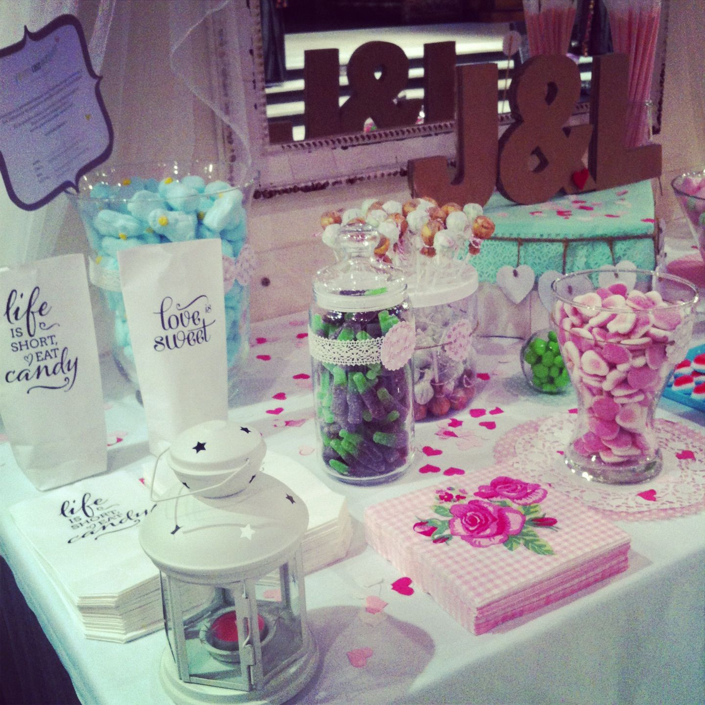 Our candy buffet x Lorena & Jon wedding!!