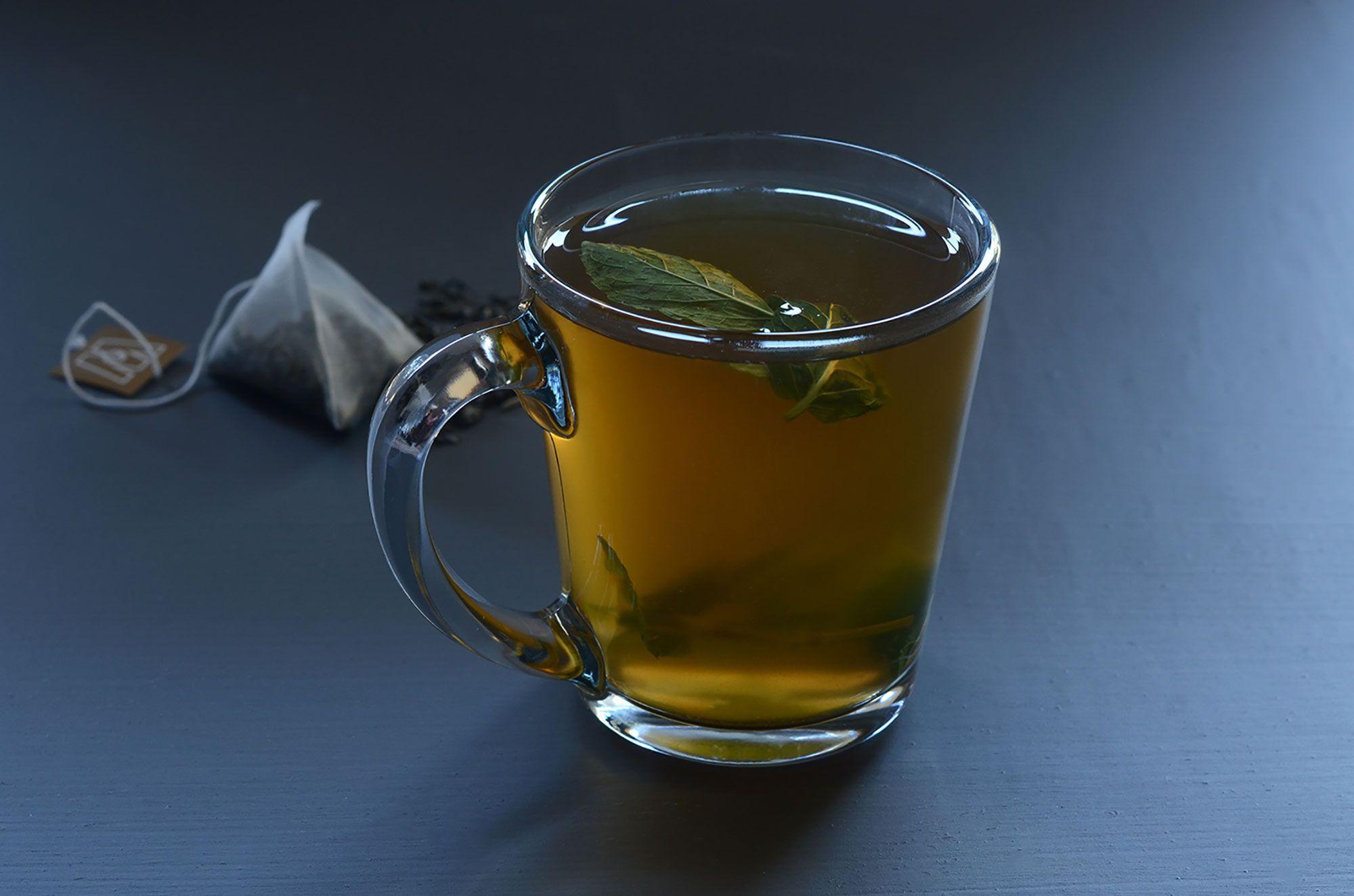 Refreshing ginger and mint steep in antioxidant abundant