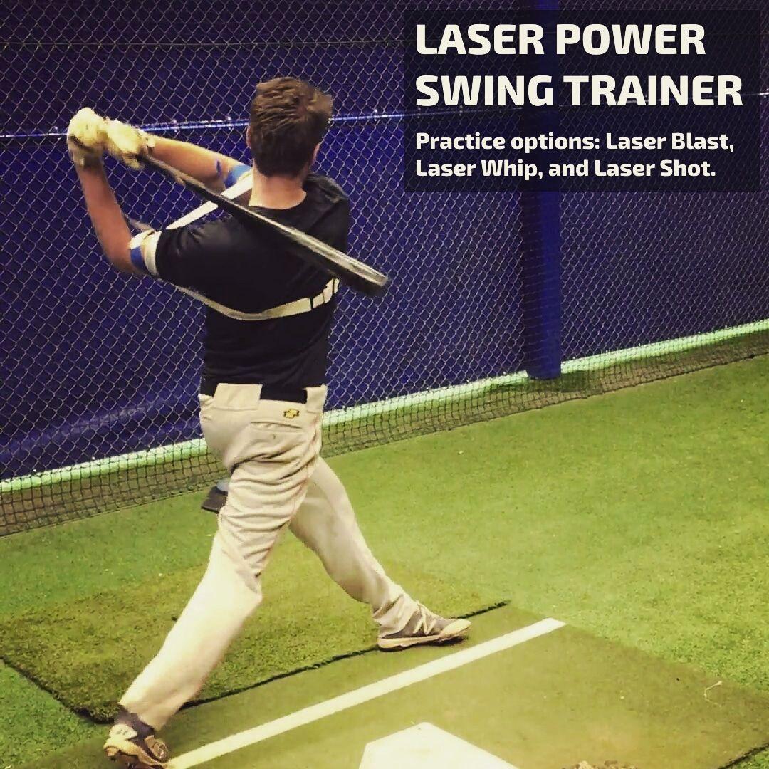 Exoprecise Exoskeleton For Precise Hitting Wear It Hit Lasers Swing Trainer Baseball Hitting Drills Baseball Hitting
