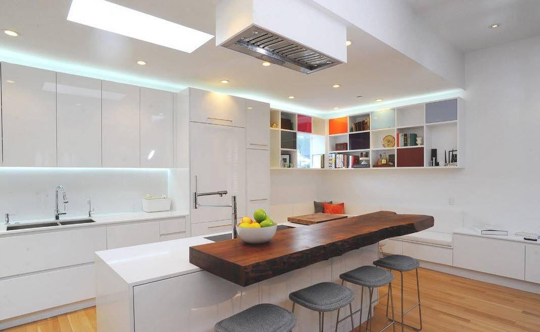 100 idee di cucine moderne con elementi in legno   Cucine moderne ...