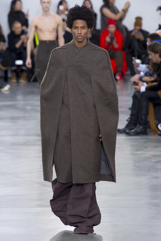 d1ade66c1 Rick Owens Fall 2018 Menswear Fashion Show in 2019 | M.RTW. Fall ...