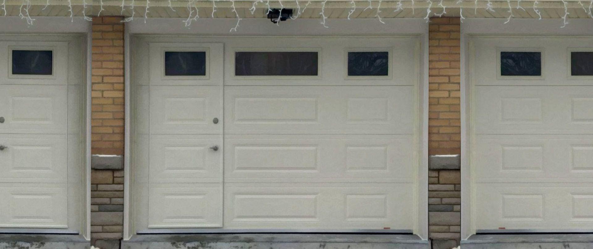 Walkthru Garage Doors Garage Doors Garage Door Design Glass Garage Door