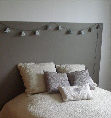 t te de lit en peinture ma chambre lit chambre et. Black Bedroom Furniture Sets. Home Design Ideas