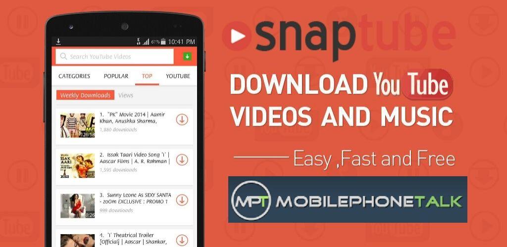 Apklio Apk for Android SnapTube v4.6.1.8527 apk