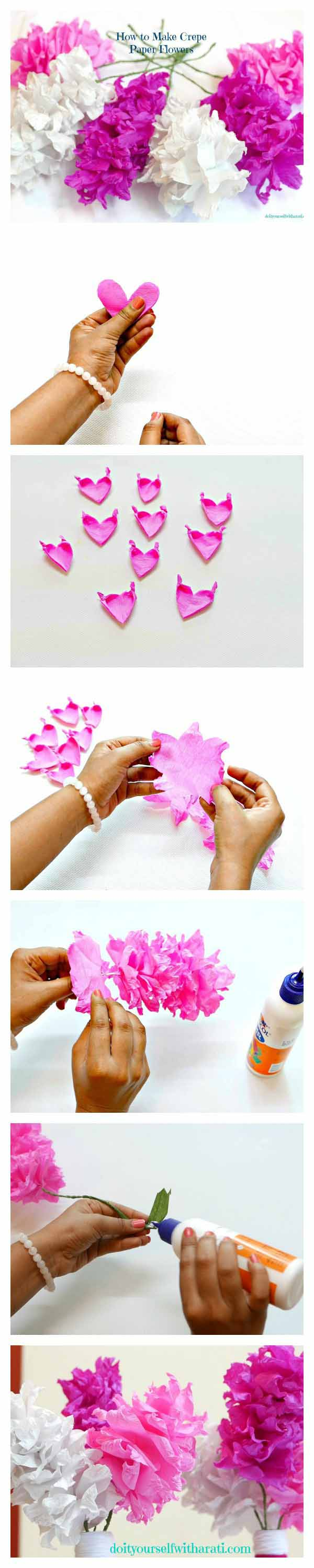 Make these beautiful crepe paper flowers easily diy home decor make these beautiful crepe paper flowers easily diy home decor flower mightylinksfo