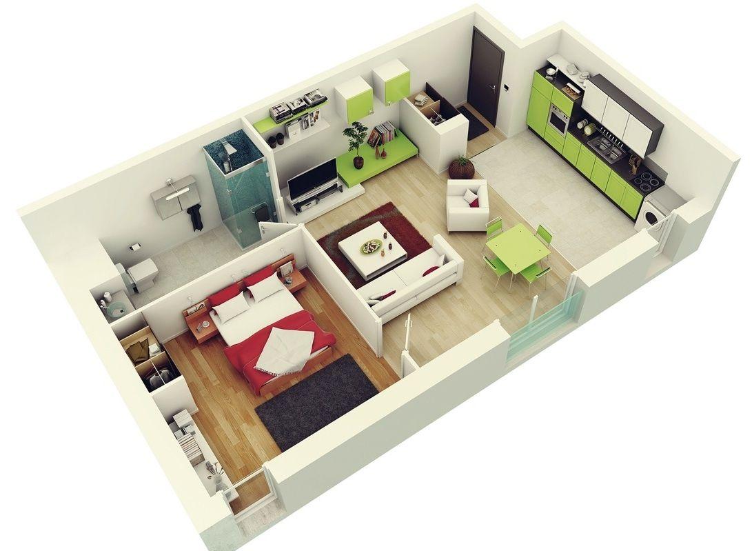 Amazing 1 Bedroom Apartments Desain Rumah Rumah Desain