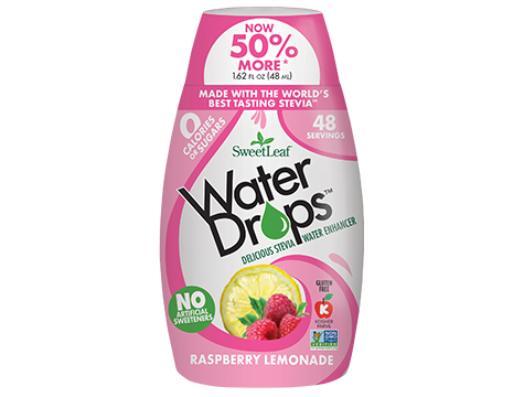 Sweetleaf Water Drops Raspberry Lemonade Stevia Sugar Free Diet