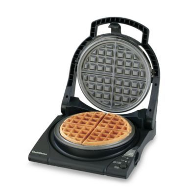 Chef S Choice Wafflepro Classic Belgian M840b Electric Waffle Maker Bedbathandbeyond Com Heart Shaped Waffle Maker Waffles Maker Belgian Waffle Maker