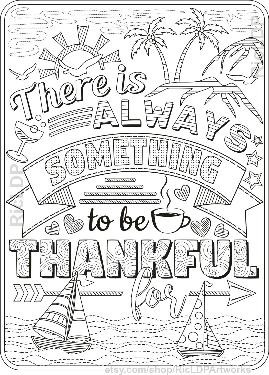 Thanksgiving Coloring Page Thanksgiving Coloring Pages Quote Coloring Pages Coloring Pages For Grown Ups