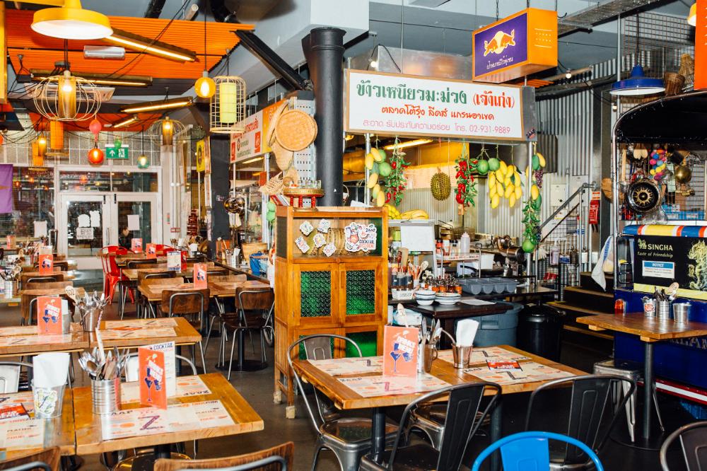 Zaap Thai Authentic Thai Street Food Leeds Newcastle Nottingham Zaap Thai Thai Street Food Street Food Design Thai Cafe