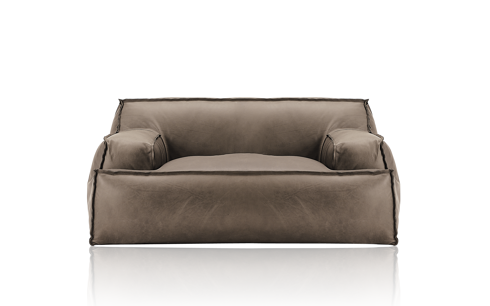 Prince modular sofa and Belt low table by Meridiani design Andrea