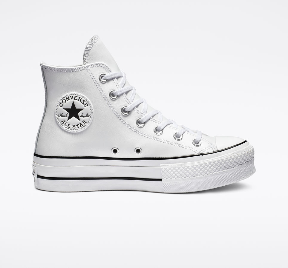 Converse One Star Discount - Black/White Converse Leather
