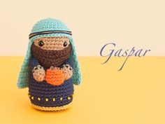 Tutorial De Amigurumis Navideños : Amigurumi magi caspar free crochet pattern tutorial вязаные