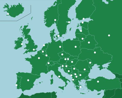 Europa Hauptstädte ErdkundeQuiz Europa quiz