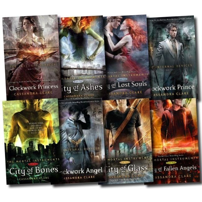 The Mortal Instruments Series Book Order