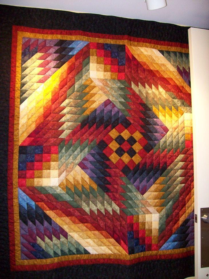 Illusion Quilt Pattern By Dereck Lockwood | Quilt inspiration ... : lockwood quilts - Adamdwight.com