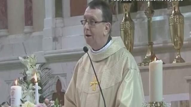 Priest In Ireland Sings Hallelujah Wedding Ceremony