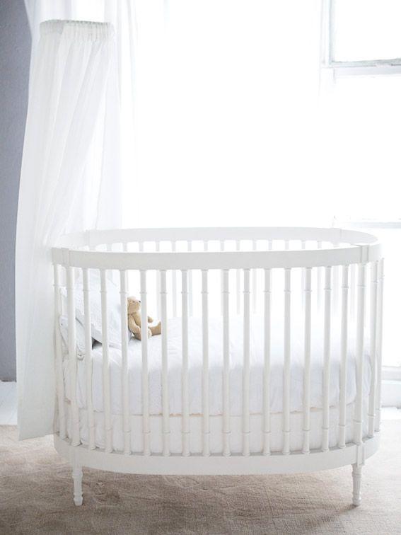 Cot Classic Oval Baby Crib Diy Baby Cot Round Crib Nursery