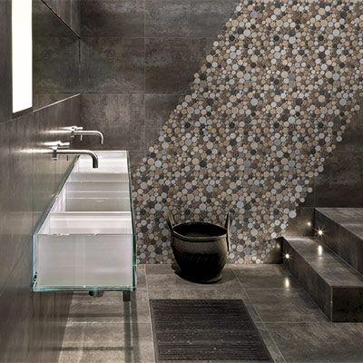 Un Carrelage En Mosaique Ronde Parfait Pour Donner Du Style A Votre Salle De Bains Deco Zen Design
