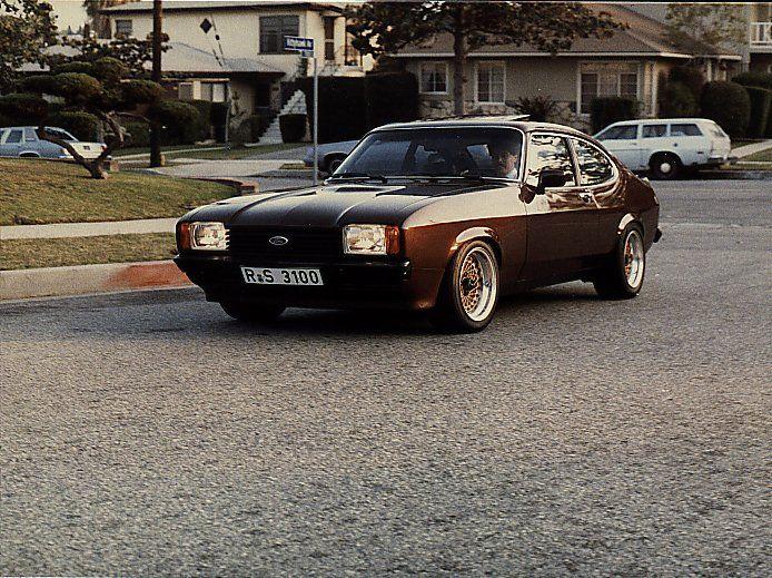 Bbs Rs Ford Capri Car Ford Ford