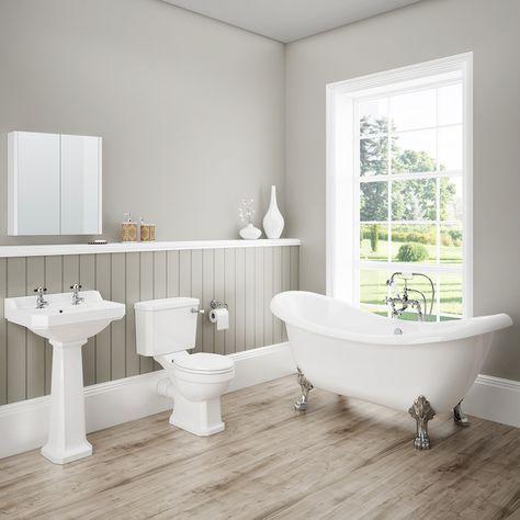 darwin traditional bathroom suite | bathtubs | bathroom, traditional