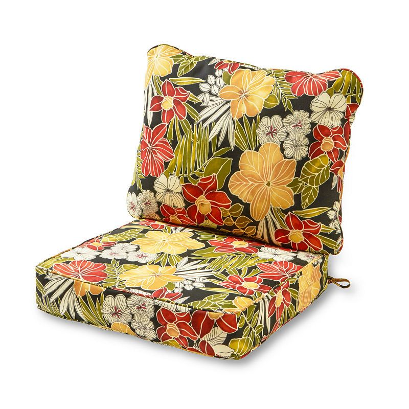 Greendale Home Fashions 2 Pc Outdoor Deep Seat Cushion Set Deep