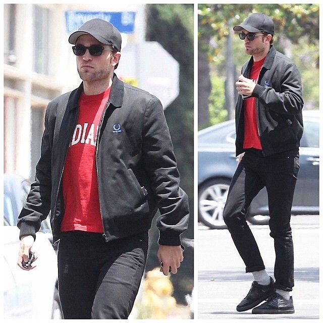 Robert Pattinson Wears Raf Simons X Fred Perry And