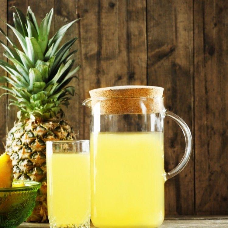عصير الأناناس للتنحيف مطبخ سيدتي Recipe Pineapple Juice Watermelon Martini Juice Stain
