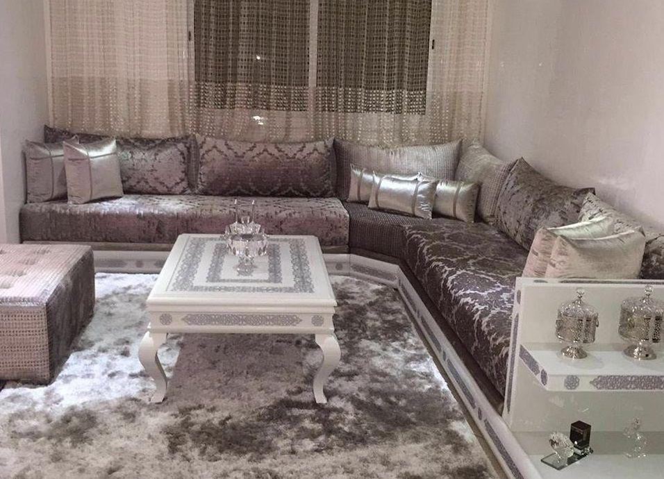 Salon marocain moderne   meubles