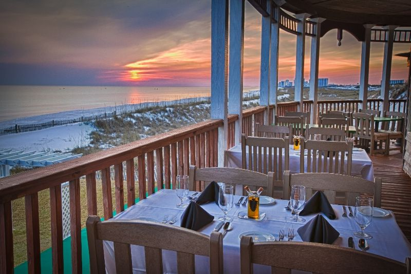 Renowned Beach Walk Restaurant At Henderson Park Inn Destin Florida The Most Awarded And Only Fine Dining Directly On In