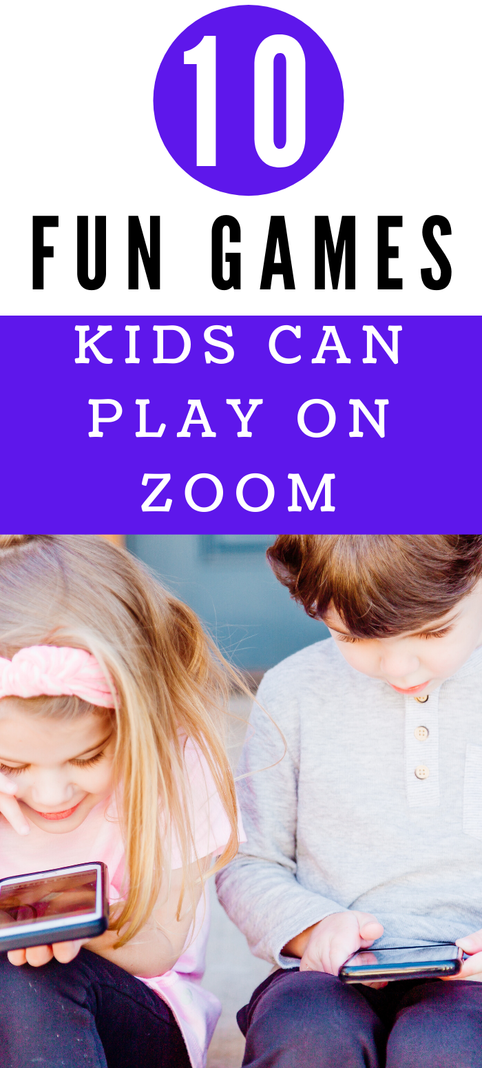 10 Fun Games Kids Can Play on Zoom, Skype or Facetime in
