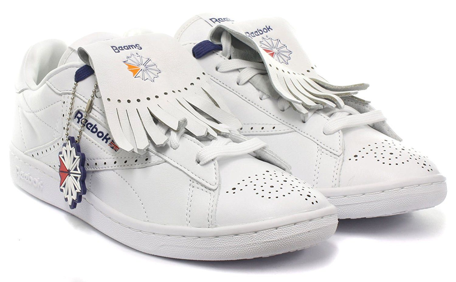 81181afb7 Reebok Classic NPC UK Beams Mens Trainers Size UK 10.5  Amazon.co.uk  Shoes    Bags