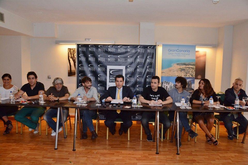 La exitosa serie 'La que se avecina' se rueda en Gran Canaria