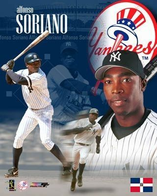 Alfonso Soriano New York Yankees New York Yankees Baseball Yankees