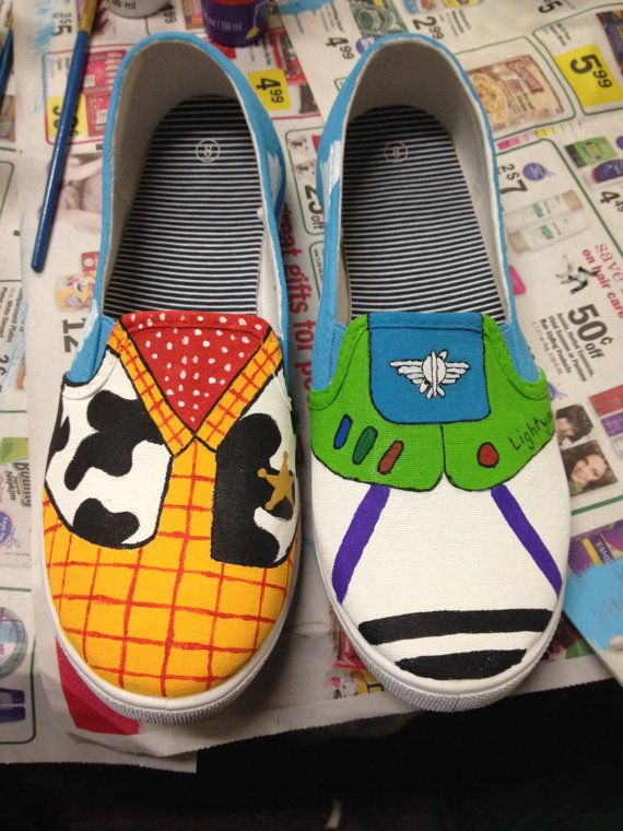 Disney painted shoes, Diy shoes, Disney