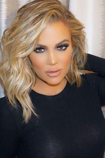 Hair Khloe Make Up Blond Włosy Fryzury I Włosy I Uroda