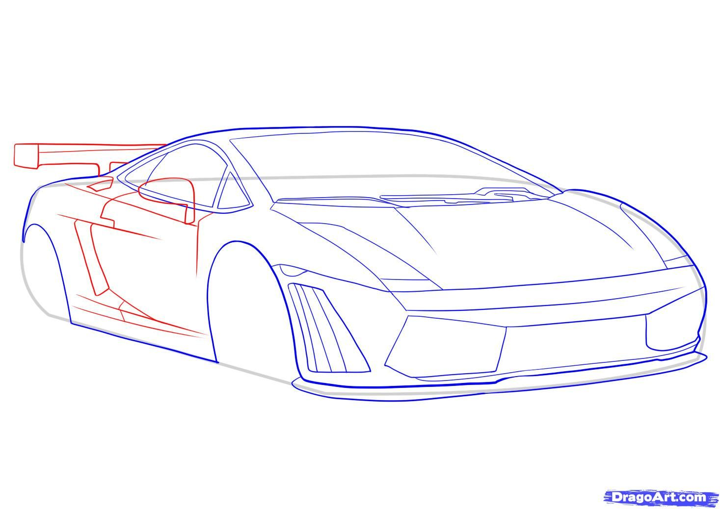How To Draw A Lamborghini Art Techniques In 2018 Pinterest Diagrams Dragon School Of Motoring Online Drawing