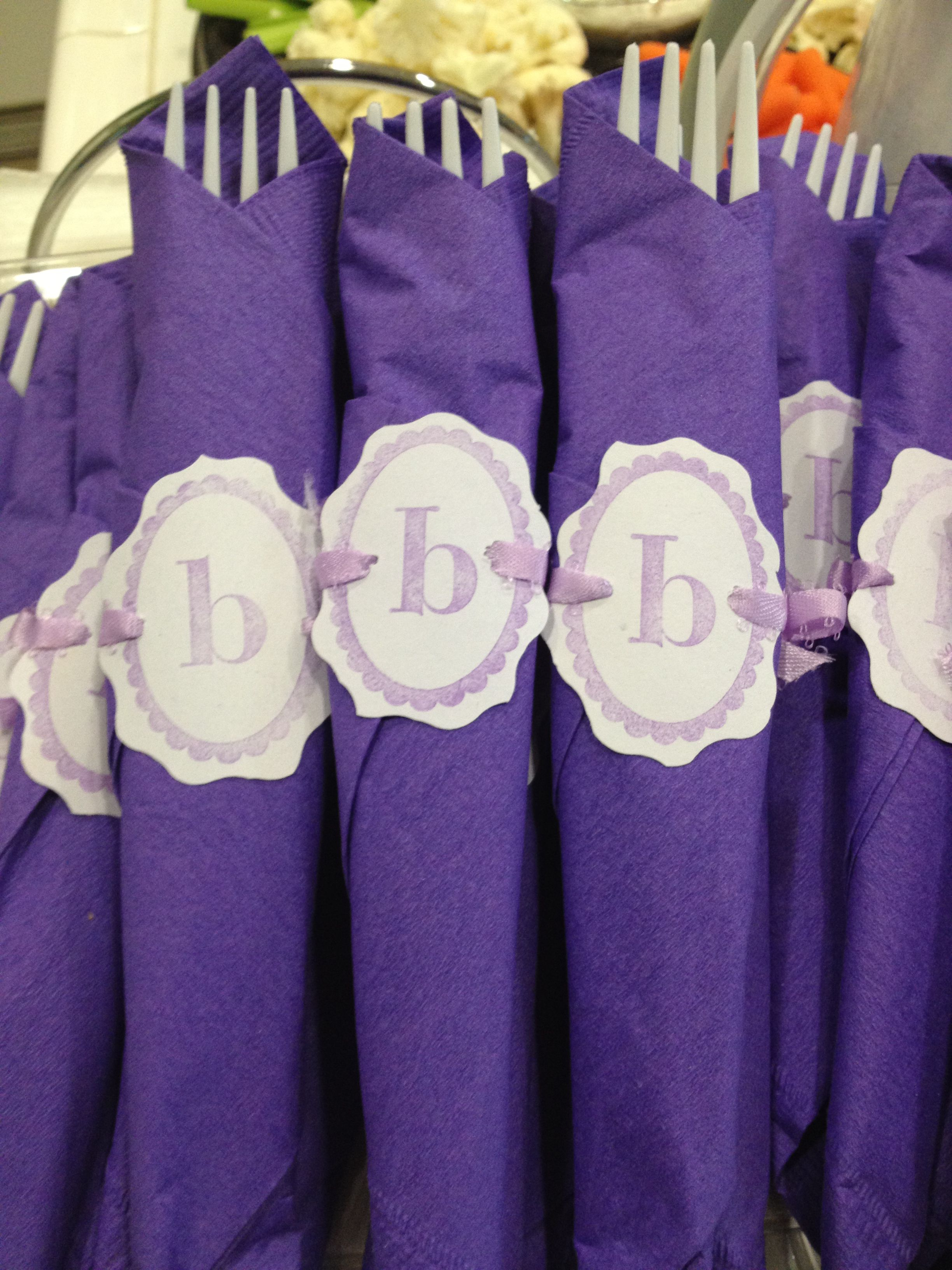 Lavender Baby Shower Decorations Purple Baby Shower Decorations Baby Girl My Creations